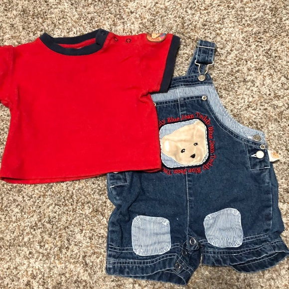 Blue Jean Teddy Other - 12M Blue Jean Teddy overalls